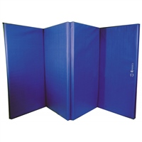 Sure Shot Foldable Double Mat 8ft X 4ft X 60mm - Blue