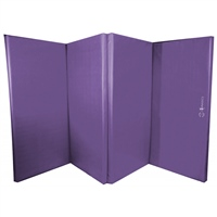 Sure Shot Foldable Double Mat 8ft X 4ft X 60mm - Purple