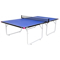Butterfly Compact Outdoor Table Tennis Table & Accessories - Blue