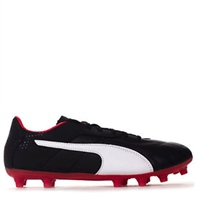 Puma Classico C Firm Ground Boot FG - Black/White/Red