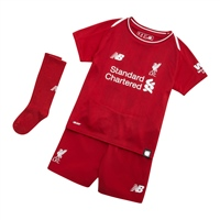 New Balance Liverpool LFC Home Infant Kit 18/19 - Red