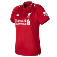 New Balance Liverpool LFC Home Jersey 18/19 - Red