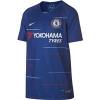 Nike Chelsea CFC Home Jersey 18/19 - Kids - Blue