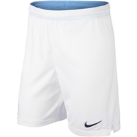 Nike Manchester City Home Shorts 18/19 - Kids - White