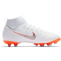Nike Jr Superfly 6 Academy GS FG/MG - White/Grey/Orange