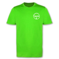 Rinka Adults Cotton T-Shirt - Lime Green
