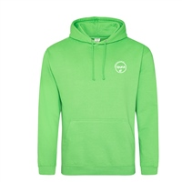 Rinka Adults Hoody - Lime Green