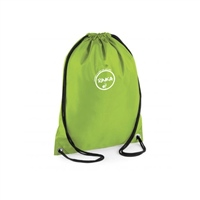 Rinka Drawstring Bag - Lime Green