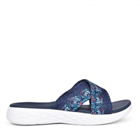 Skechers Womens On The Go Monarch Sandals - Navy