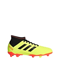 Adidas Predator 18.3 FG Boot - Kids - Yellow/Black/Red