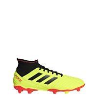 Adidas Predator 18.3 Firm Ground Boot - Yellow/Black/Red