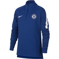 Nike Chelsea CFC Squad Drill Top 18/19 - Kids - Royal/White