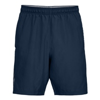 Under Armour Mens Woven Graphic Shorts - Navy