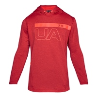 Under Armour Mens MK1 Graphic PO Hoodie - Red