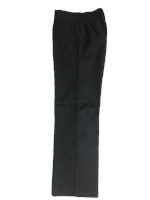 Skippy Half Elastic Slacks - Grey