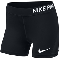Nike Girls Pro Boy Shorts - Black