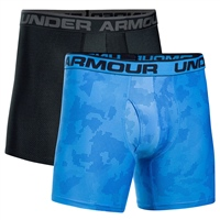 Under Armour Original Boxerjocks - 2pk - Blue/Grey