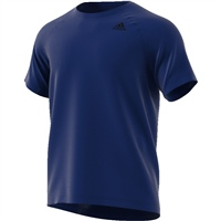 Adidas Mens  D2M T-Shirt PL - Royal