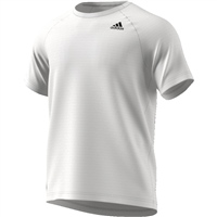 Adidas Mens D2M T-Shirt - White