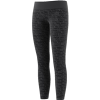 Adidas Girls TR Brand Tights - Carbon/Black
