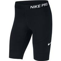 Nike Girls Pro 9inch Shorts - Black