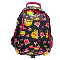 Ridge 53 Esker Emoji Backpack - Black