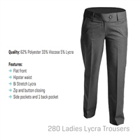 Hunter Trouser - Grey