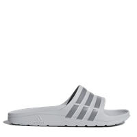 Adidas Mens Duramo Slides - Grey/Grey