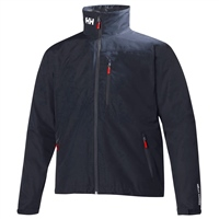 Helly Hansen Mens Crew Midlayer Jacket - Navy
