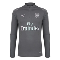 Puma Arsenal FC 1/4 Zip Top - Grey