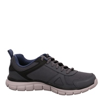 Skechers Mens Cloric Memory Foam - Grey/Navy