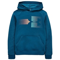 Under Armour Boys Rival Logo Hoodie - Blue
