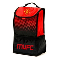 Daricia Utd Fade Lunch Bag - Red/Black/White