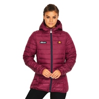 Ellesse Womens Lompard Padded Jacket - Purple
