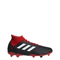 Adidas Predator 18.3 FG Adults - Black/White/Red