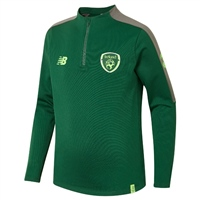 New Balance Ireland FAI Elite Hybrid 1/4 Zip Top - Green