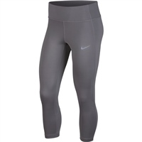 Nike Womens Racer Crop 3/4 Pant - Grey
