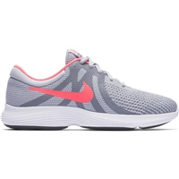 Nike Girls Revolution 4 (GS) - Grey/Pink