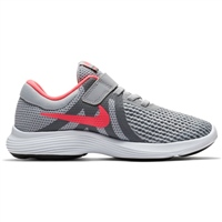 Nike Girls Revolution 4 (PSV) - Grey/Pink