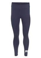 Puma Womens Ess Logo Leggings - Navy/White