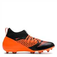 Puma FUTURE 2.3 Netfit FG/AG Boots - Black/Orange
