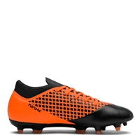 Puma FUTURE 2.4 FG/AG Football Boot - Kids - Black/Orange
