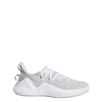 Adidas Womens AlphaBOUNCE Trainer - Grey/White