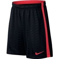 Nike Kids Academy Shorts Jaq - Black/Crimson