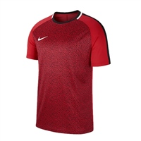 Nike Mens Dry Academy Top SS GX2 - Crimson/Black/White