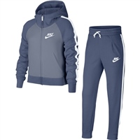 Nike Girls NSW Track Suit PE - Blue/Grey/White