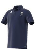 Raphoe Badminton Club Core18 Polo - Youth - Dark Blue/White