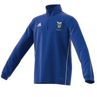 Raphoe Badminton Club Core18 Training Top - Youth - Bold Blue/White