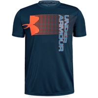 Under Armour Boys Crossfade Tee - Blue/Orange