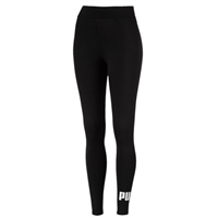 Puma Womens Ess Logo Leggings - Black